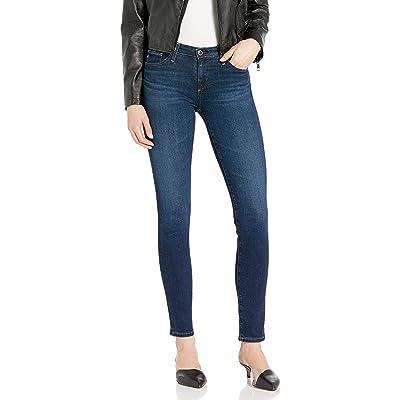 AG Adriano Goldschmied Women's Prima Mid-Rise Cigarette Leg Jean: Clothing