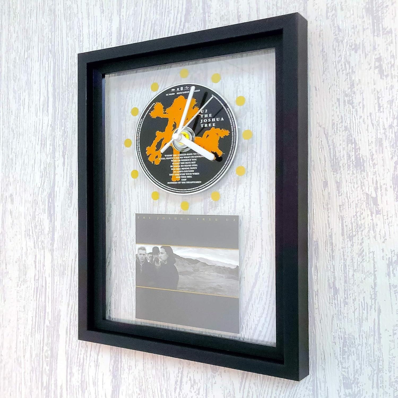 Bat Out Of Hell FRAMED CD ART CLOCK//Exclusive Design MEAT LOAF