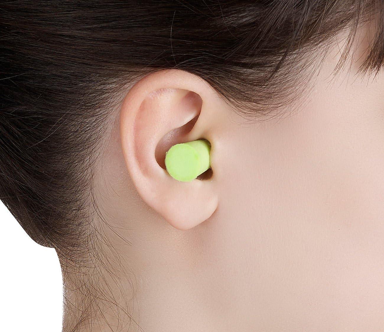 Earplugs Bulk Pack Ear Plugs Pack of 100 in 4 Colours Insulation Value 33 dB Newgen Medicals Ear Plugs