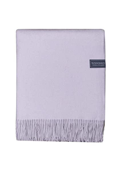 bf110f42f2ff8 Amazon.com: The Tartan Blanket Co. Merino & Cashmere Blanket (59