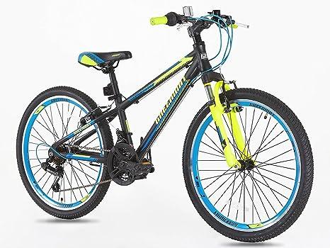 Junior bicicleta de montaña 20 pulgadas ruedas Shimano Gear 7 de ...