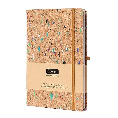 Amazon.com: Cuaderno de papel con diseño de cuadrícula de ...