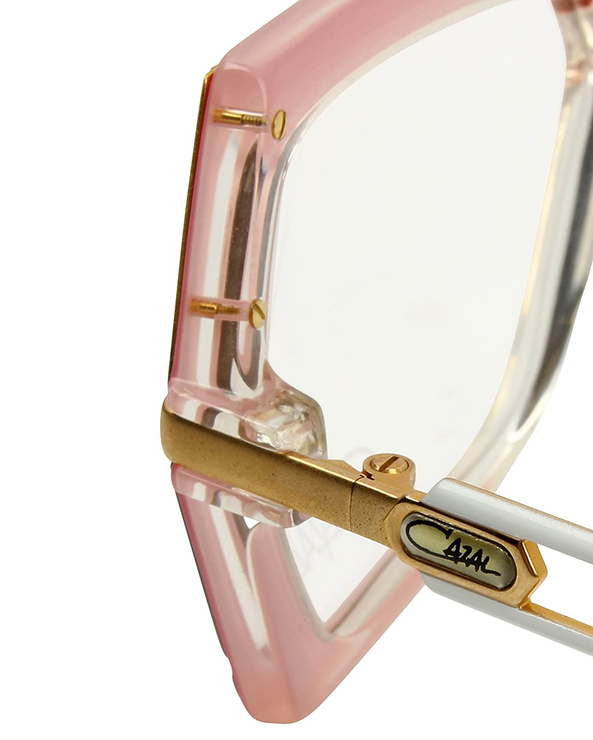 f4e3dbc896be Cazal Vintage Glasses - MOD 183 COL 242 - Pink   Gold - With Case   Amazon.co.uk  Clothing