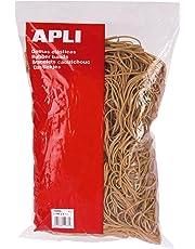 APLI 12856 - Pack de 450 gomas elásticas, 100 x 2 mm