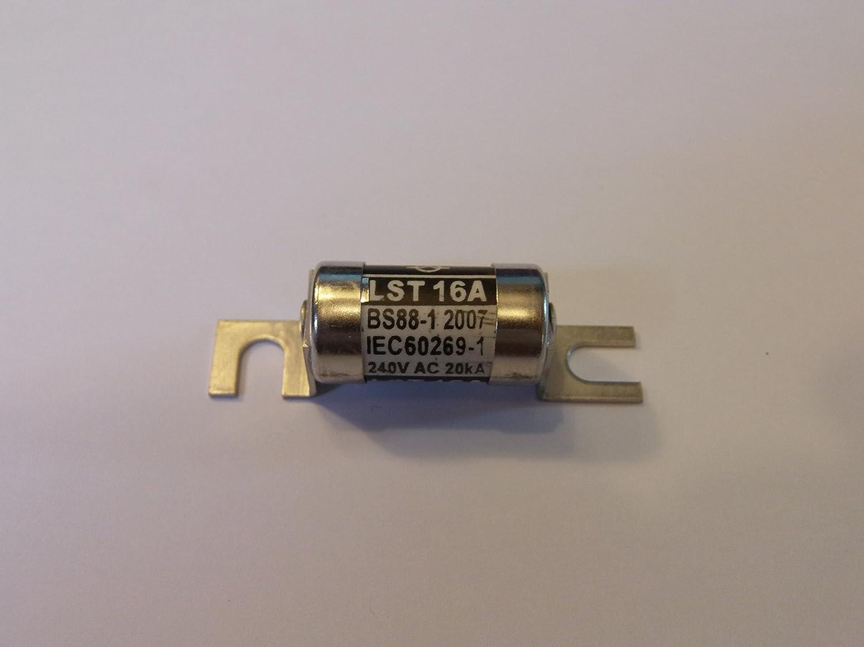 LST 6A LAWSON FUSE 1 X LST 6AMP 240V AC 20KA BS88-1