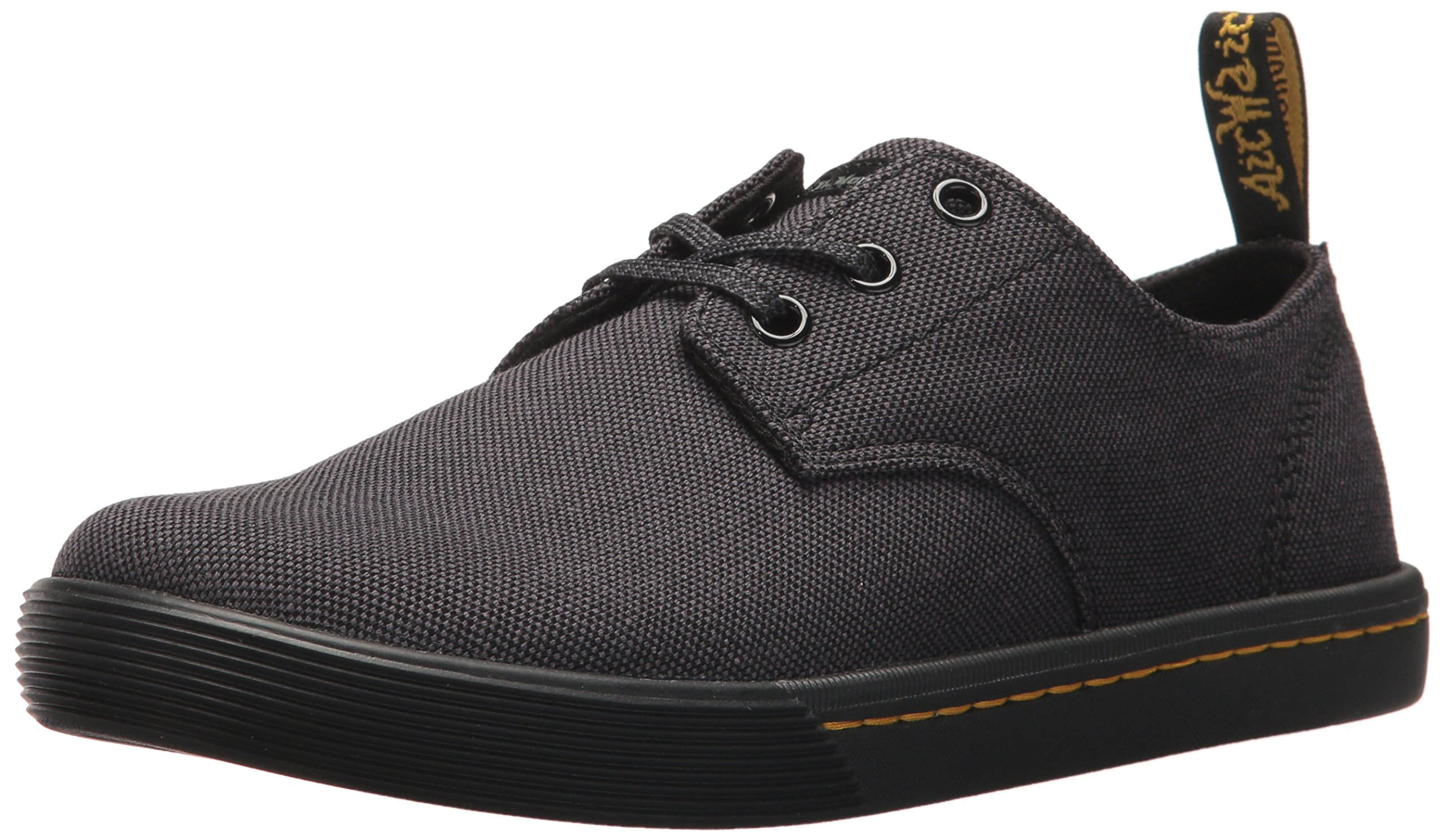 Dr. Martens Women's Santanita Oxford, Black Woven Textile, 8 Medium UK (10 US)