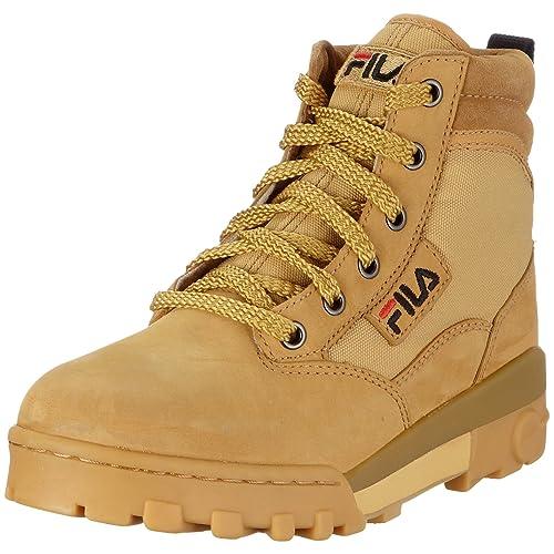 Fila Grunge - Botas de senderismo unisex, color amarillo, talla 38: Amazon.es: Zapatos y complementos
