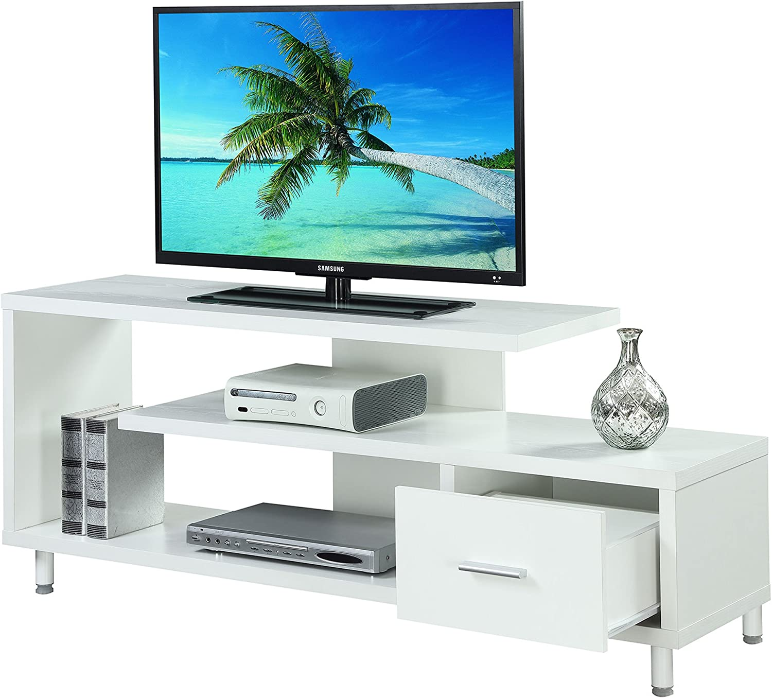 Convenience Concepts Seal II 60 TV Stand Black