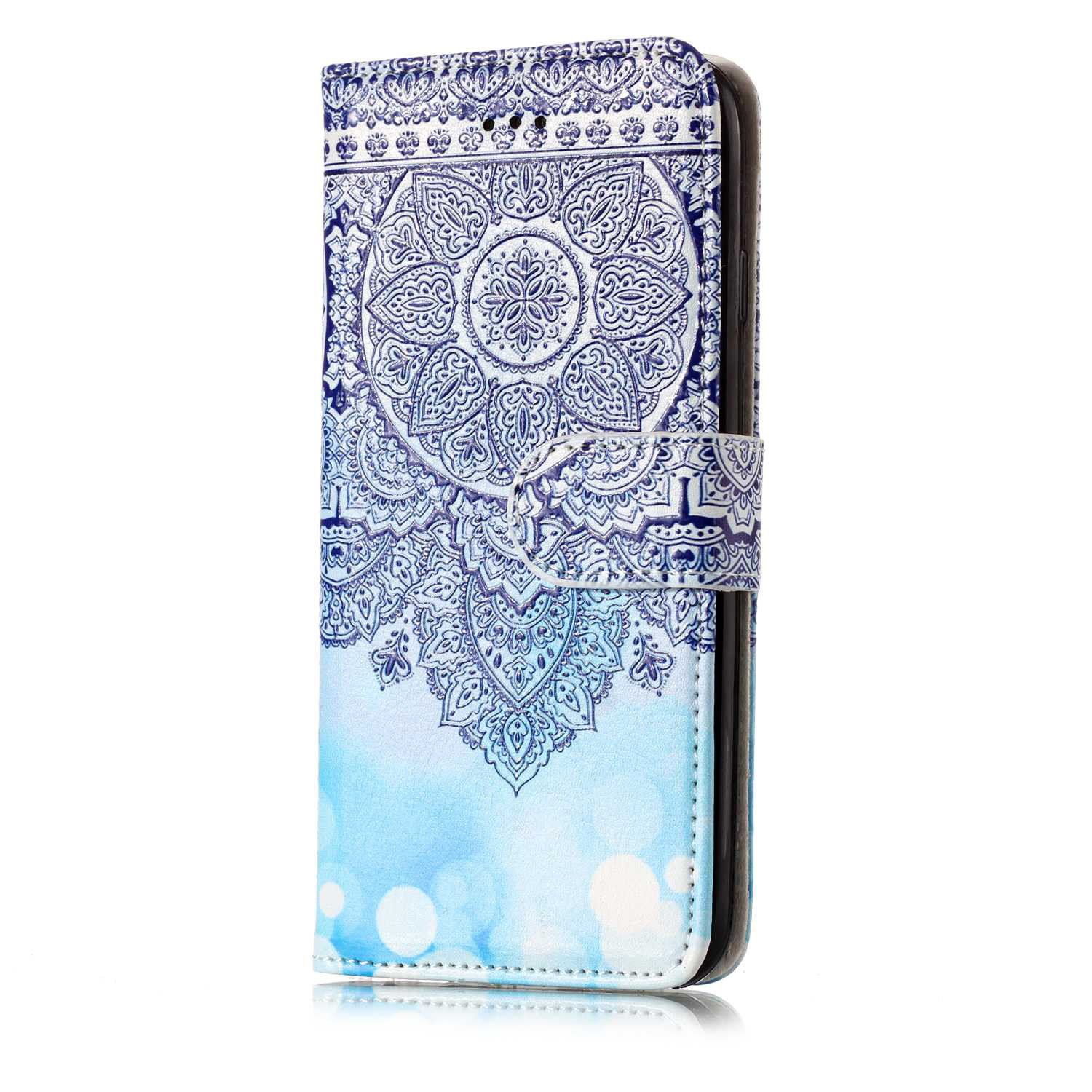 E-Mandala Funda Apple iPhone 6S 6 Piel Carcasa con Tapa ...