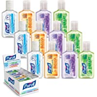 PURELL Advanced Hand Sanitizer Refreshing Gel, Various Scents, 1 fl oz flip Cap Bottle (Box of 12 Bottles)- 3901-24-CMRMETRY