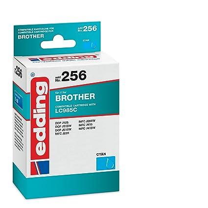 Edding 18 - 256 Cartuchos de Tinta 256, sustituye a: Brother ...