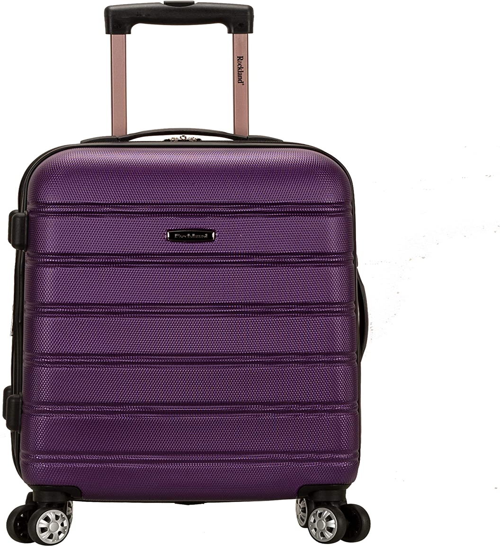 shipfree Rockland Melbourne Hardside Expandable Spinner Luggage Pu Japan Maker New Wheel