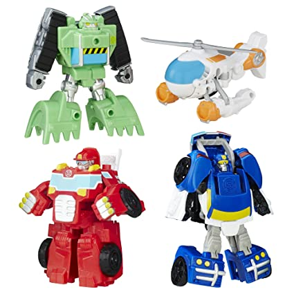 8b8c5b3ea Amazon.com  Playskool Heroes Transformers Rescue Bots Griffin Rock Rescue  Team  Toys   Games