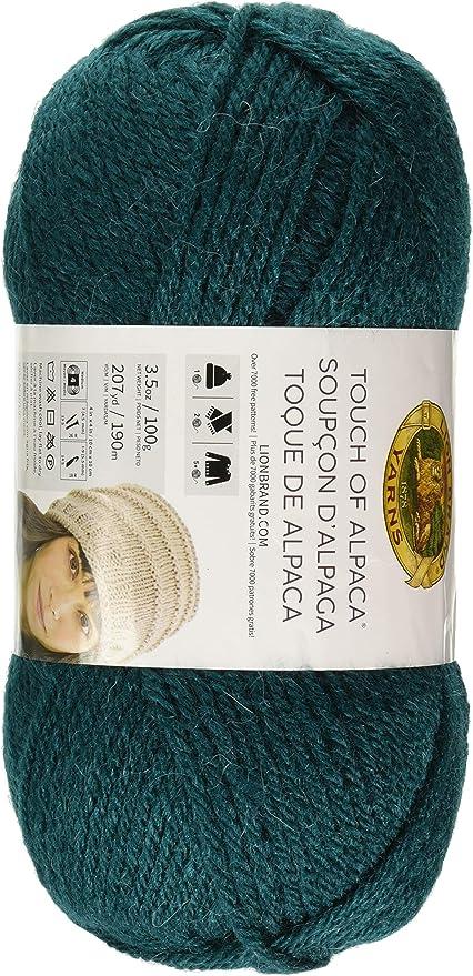 Yarn Blush Lion Brand Yarn 674-104 Touch Of Alpaca Yarn