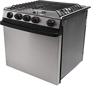 "Atwood | Dometic 17"" RV Range Oven Cooktop Range RV-1735 SSPSX2#52879"