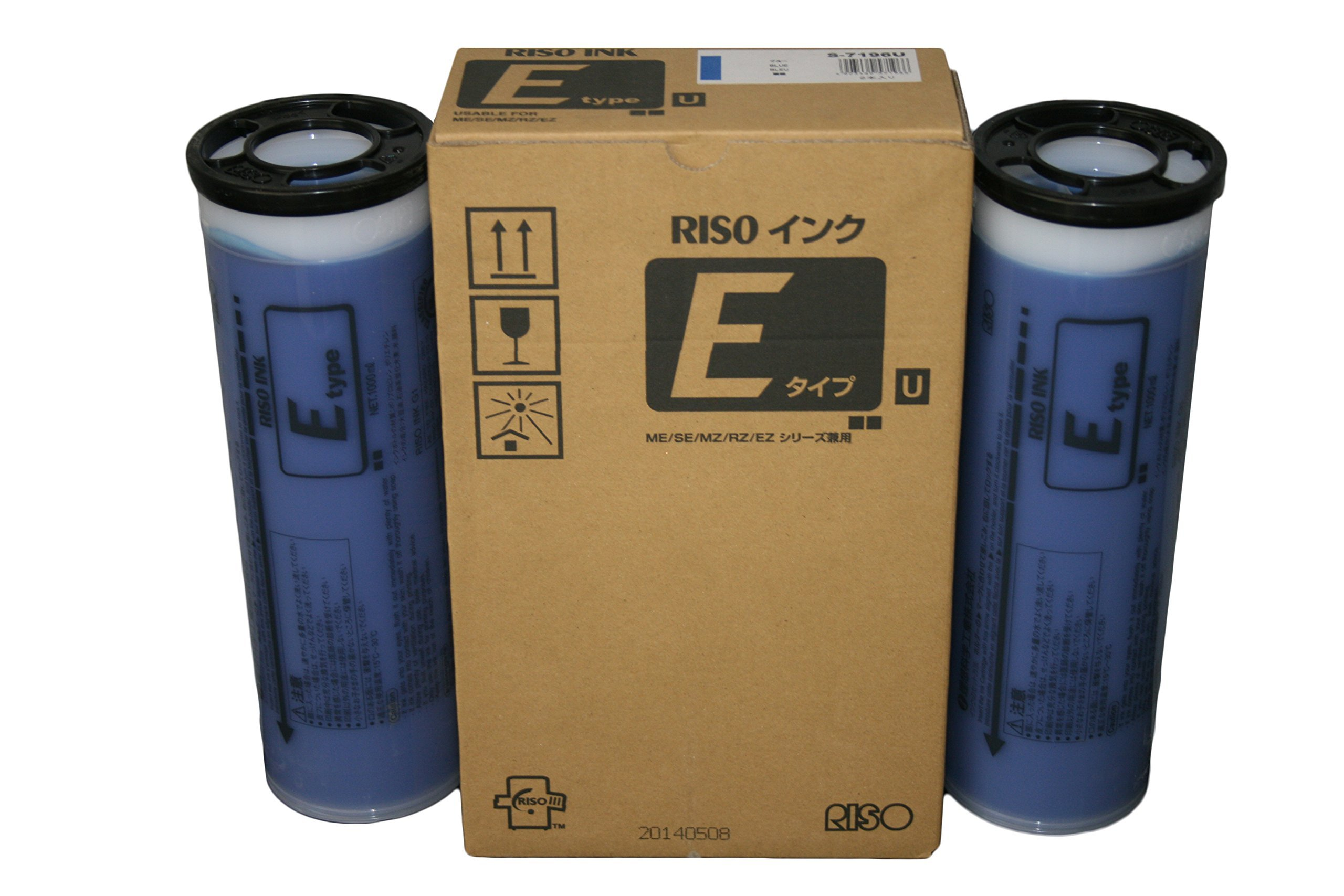 2 Riso S-7196 Blue Ink, for Risograph EZ, MZ, and RZ Series Duplicators by RISO (Image #2)