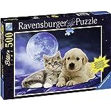 Ravensburger 14862 - Goldige Freunde 500 Teile Puzzle
