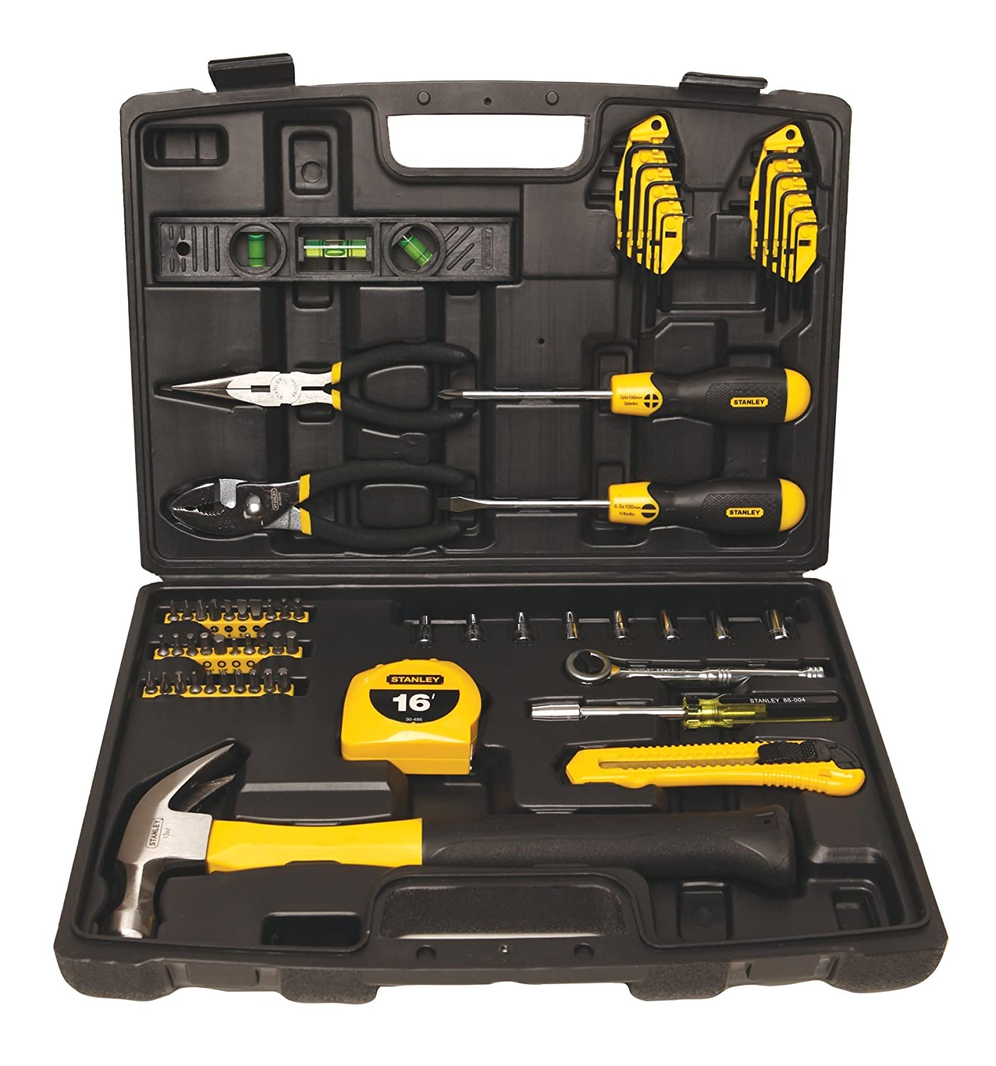 Stanley 94-248 65-Piece Homeowner\'s Tool Kit - Hand Tool Sets ...