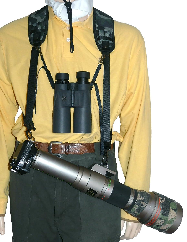 Arnés de Trekking Safari PRO aliviar peso cámara de fotos, diseño ...