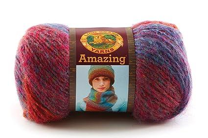 Amazon Lion Brand Yarn 825 200v Amazing Yarn Aurora