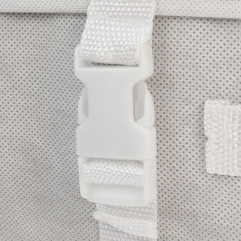 Hangerworld Caja de Ordenaci/ón 35x55x20cm Transpirable con Tapa Protege tu Traje de Novia Marfil