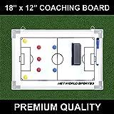 "FORZA Football Tactics/Coaching Board 18"" x 12"" [45cm x 30cm] - [Net World Sports]"