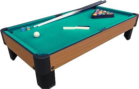 PLAYCRAFT deporte banco Shot – Mesa de billar - PSPT4001G, Verde ...