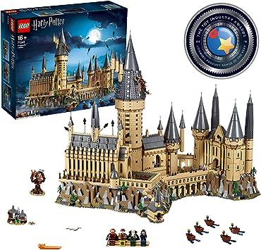 LEGO Harry Potter TM-Castillo de Hogwarts, maqueta de juguete para construir la escuela de magía, incluye varios personajes de la saga (71043) , color/modelo surtido: LEGO: Amazon.es: Juguetes y juegos