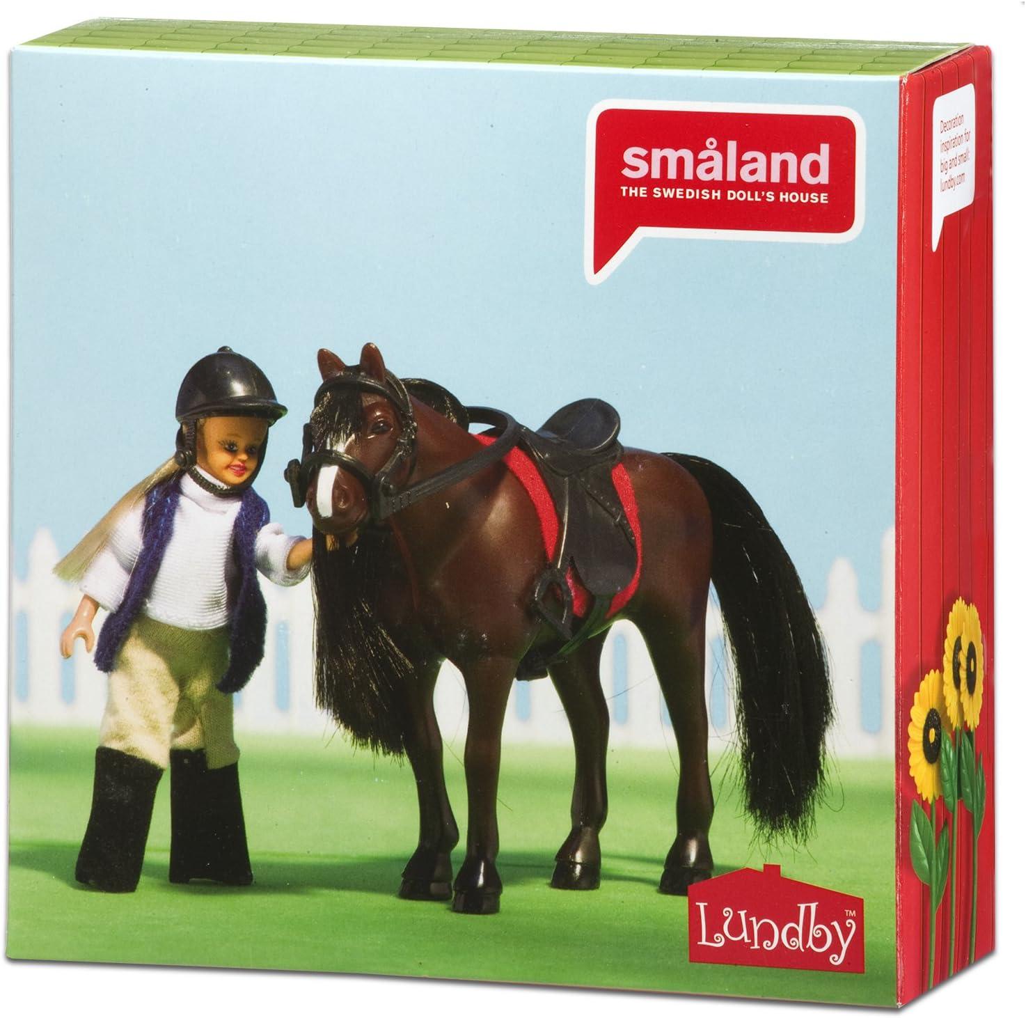 LUNDBY Smaland cheval plus poupée fille