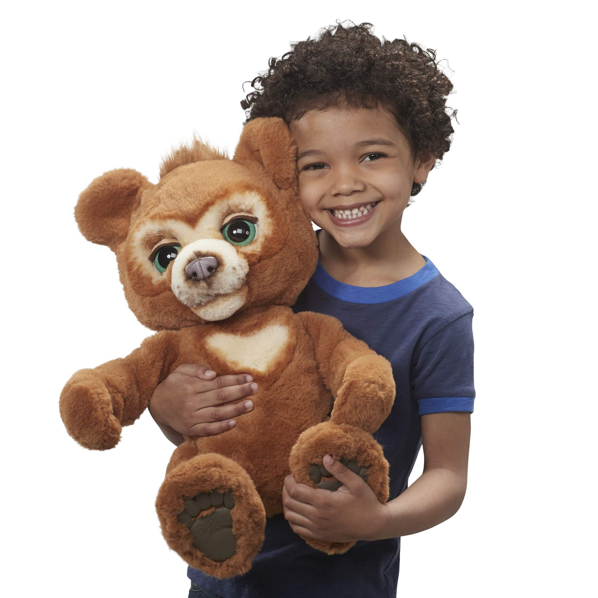 FurReal Cubby, The Curious Bear Interactive Plush Toy, Ages 4 and Up by FurReal (Image #11)