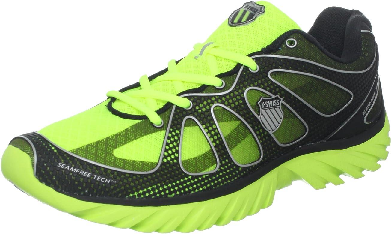K-Swiss Blade-Light Run II Blade Light Run II-M - Zapatillas de Deporte de Tela para Hombre, Color Amarillo, Talla 43: Amazon.es: Zapatos y complementos