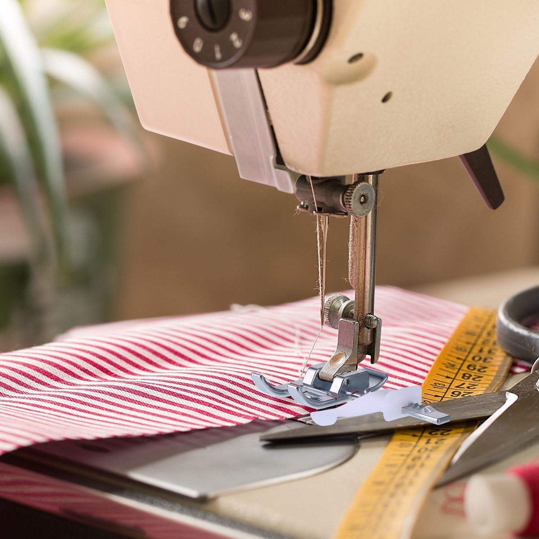 1 prensatelas de guía ajustable para máquina de coser y 1 ...