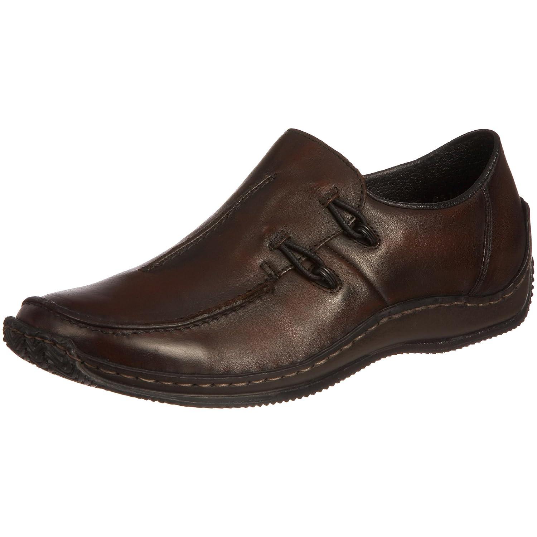 Rieker Celia L1751 Brown Ladies Loafers B002H96TGG 37 M EU Brown Leather