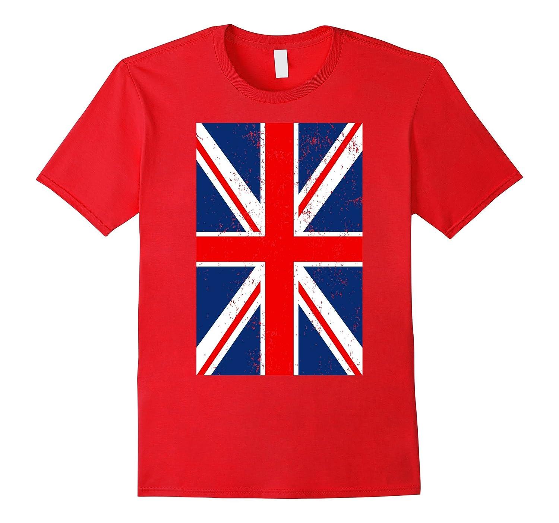 Union Jack UK British Flag T-Shirt-Vaci