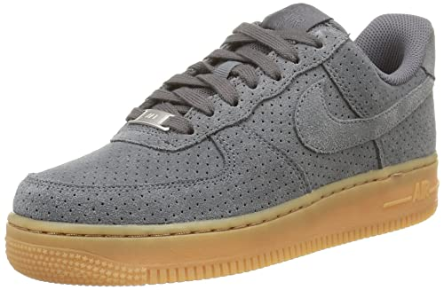 nike air force 1 suede gris femme