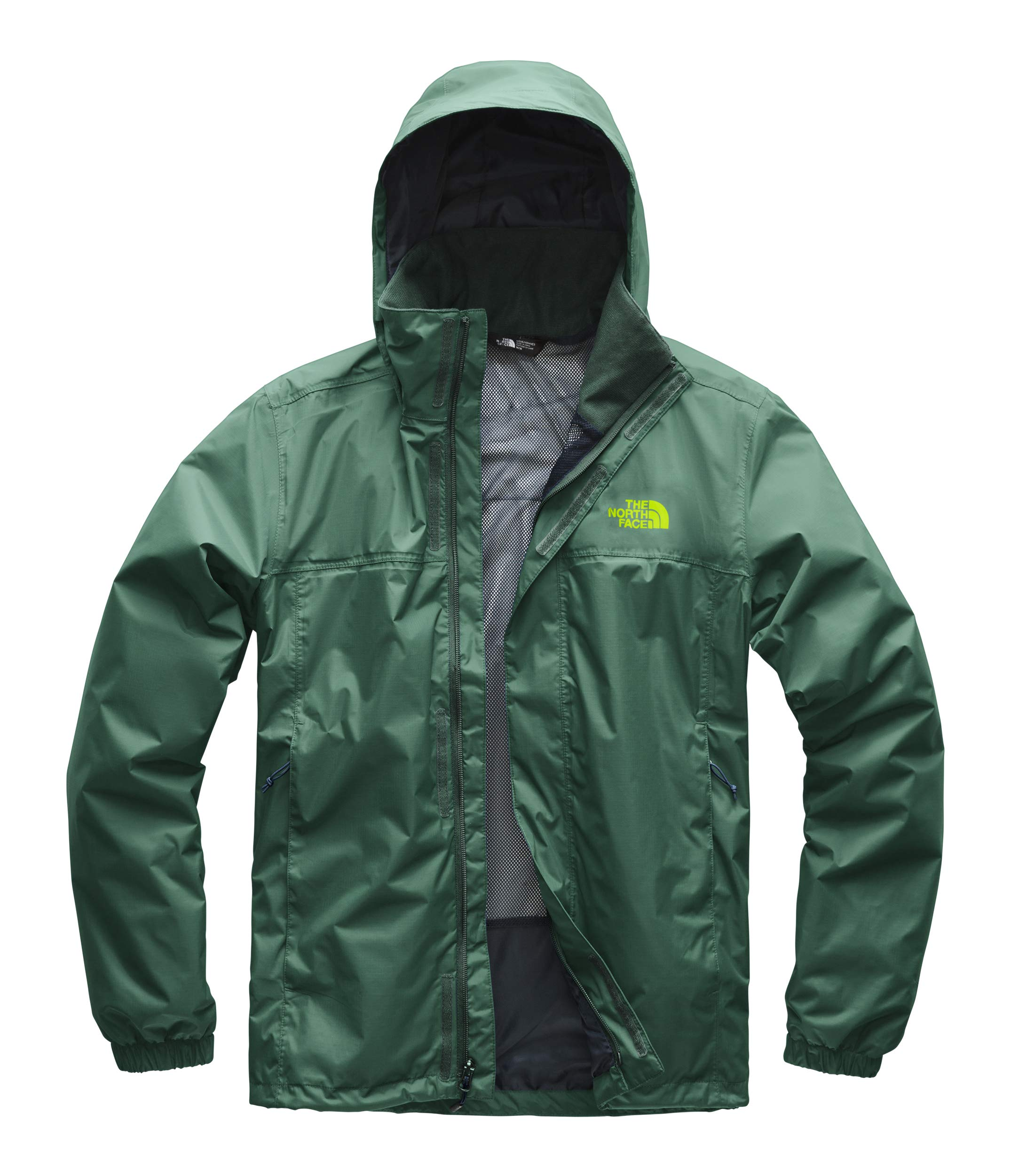 The North Face Men's Resolve 2 Jacket - Botanical Garden Green & Botanical Garden Green - S