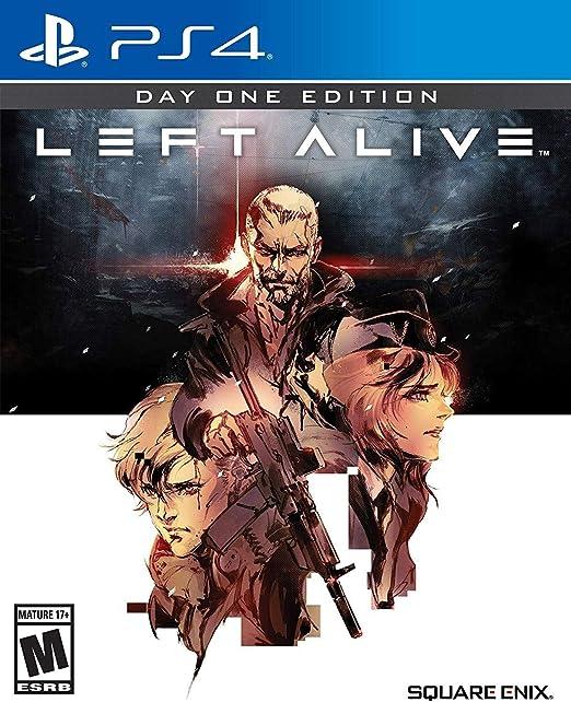Amazon Com Left Alive Playstation 4 Square Enix Llc Video Games