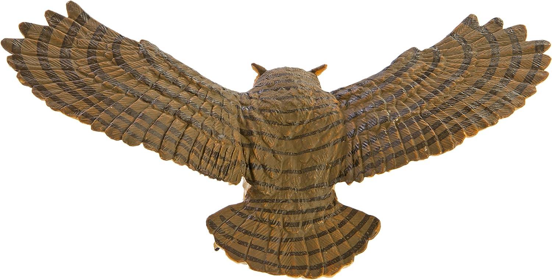 Products Great Horned Owl  Replica Bird # 264429 FREE SHIP//USA w// $25 SAFARI