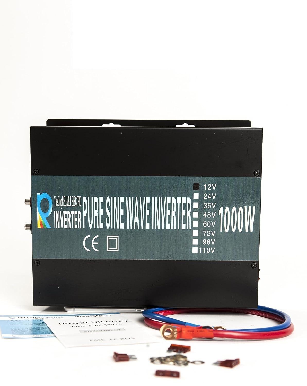 CONVERTISSEUR PUR SINUS 24V 220V 1000 watts