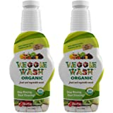 Veggie Wash Organic Fruit and Vegetable Wash, 32 Fluid Ounce