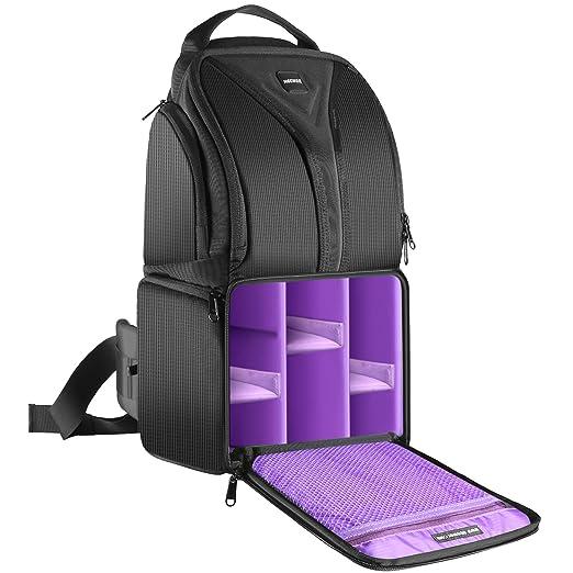 149 opinioni per Neewer Zaino Backpack a Monospalla 22x15x(22+20)cm Impermeabile Leggero &