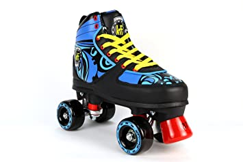 KRF The New Urban Concept Ethnic Patines Paralelo 4 Ruedas, Negro, 35: Amazon.es: Deportes y aire libre