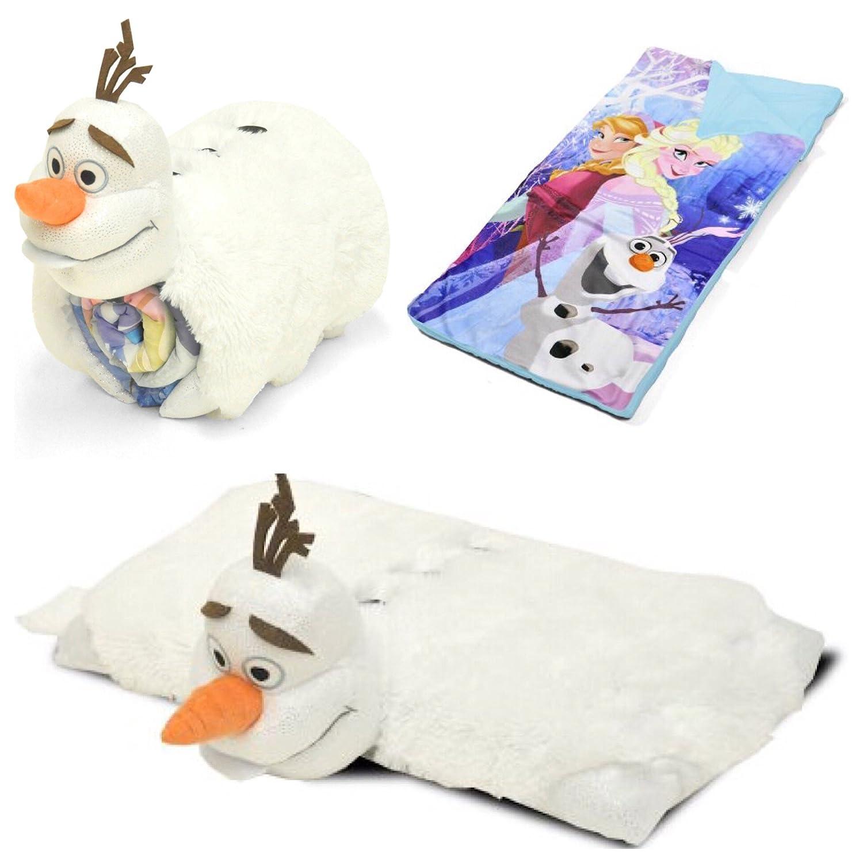 Disney Frozen Olaf Slumber SleepingバッグRoll Up Set B077TG27W8