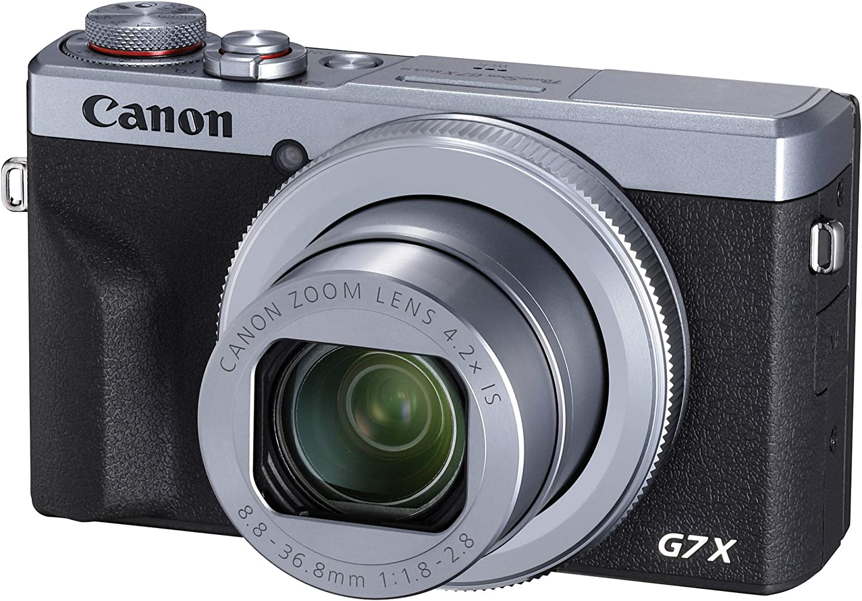 Canon Powershot G7 X Mark Iii Silver Camera Photo