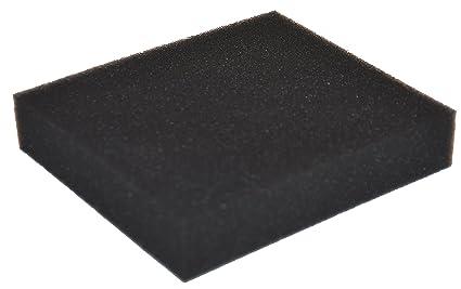 Greenstar 5855 - Espuma de filtro para Castelgarden/Stiga 130 x 108 x 27 mm