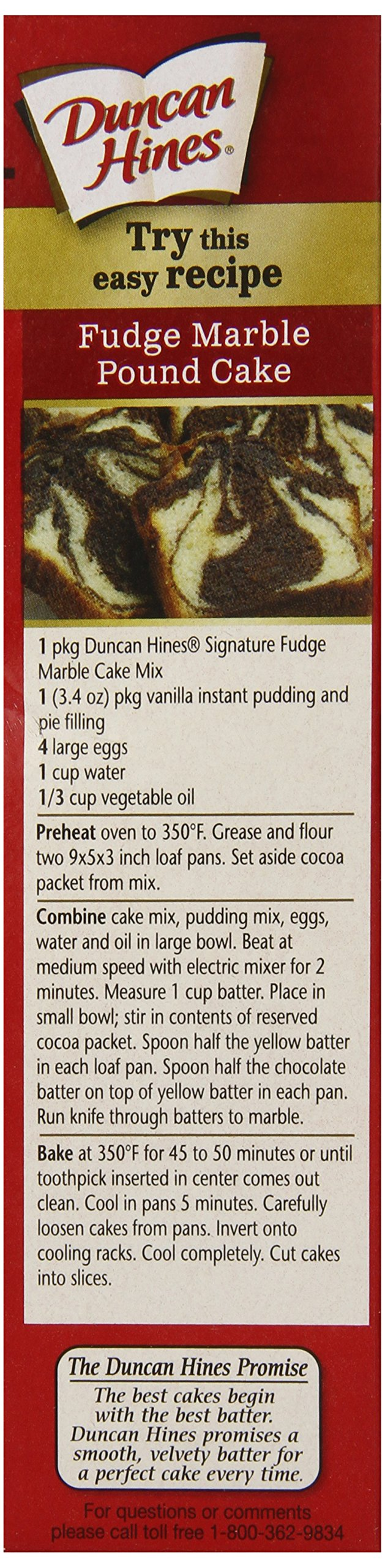 Duncan Hines Cake Mix, Fudge Marble, 16.5 Ounce (Pack of 12) by Duncan Hines (Image #5)
