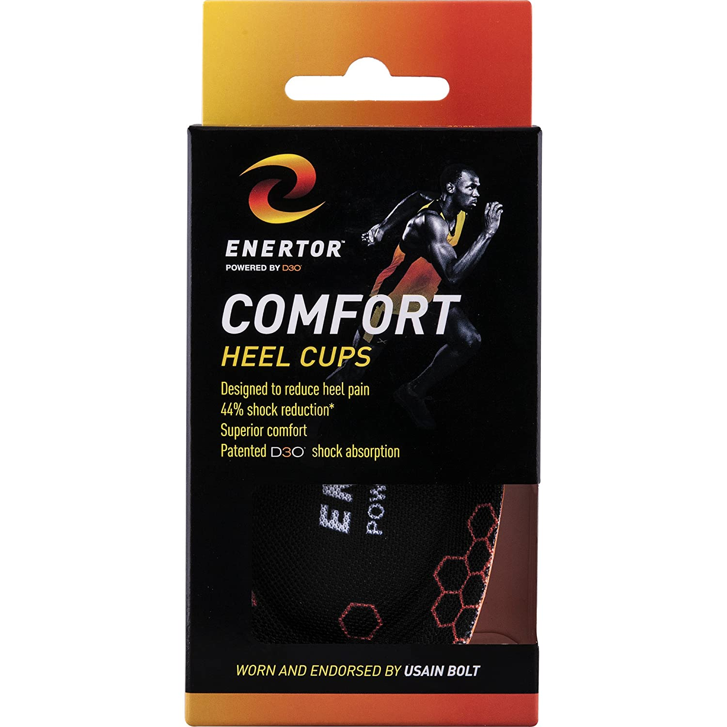 Amazon.com: Enertor Comfort Insole Heel Cup, Small 4-6: Health & Personal Care