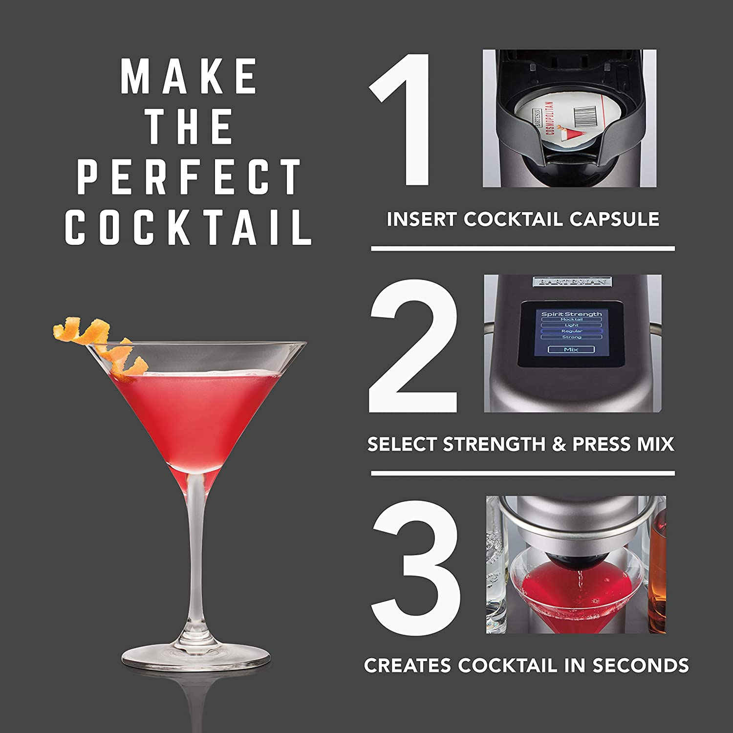 Bartesian 55300 Premium Cocktail Maker