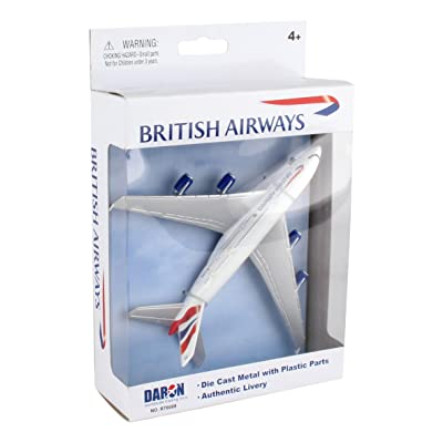 Daron Worldwide Trading RT6008 British Airways A380 Single Plane: Toys & Games