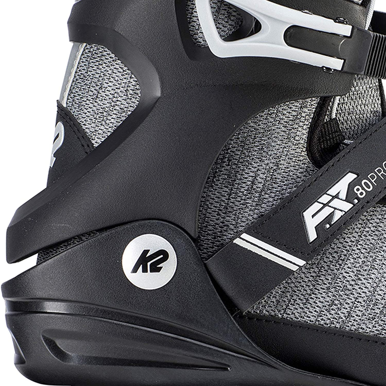 Gray 80 Pro Inline Skates 5 K2 Mens F.I.T
